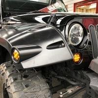 2007y ラングラー・ルビコンx赤レザー調シートカバーのサムネイル