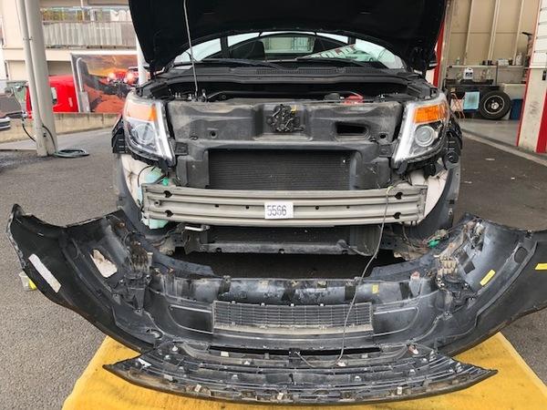 フォード EXプローラーのカスタムです。