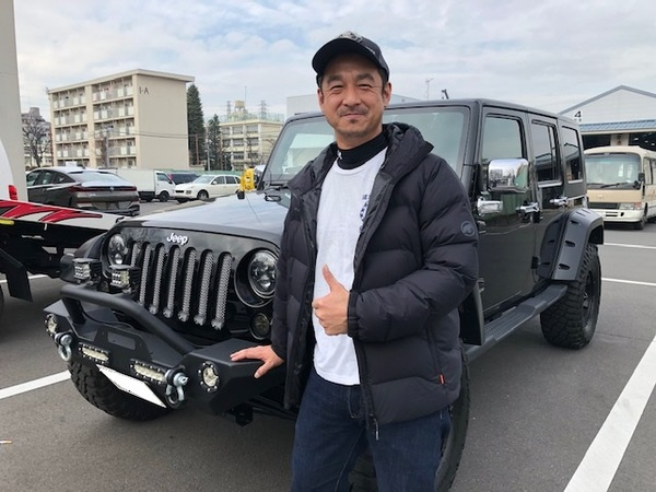 08y JKラングラーアンリミテッド・スポーツ 東京都S様