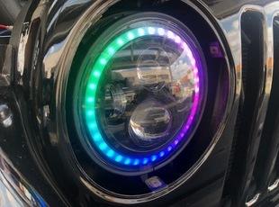 TJラングラーxLEDヘッドライト