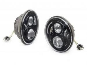 APS LEDヘッドライト/ブラック(TJ、JK)