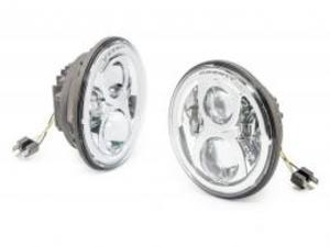 APS LEDヘッドライト/クローム(TJ、JK)
