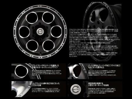 Blood Stock グロスブラック/ポリッシュリム(TJ)