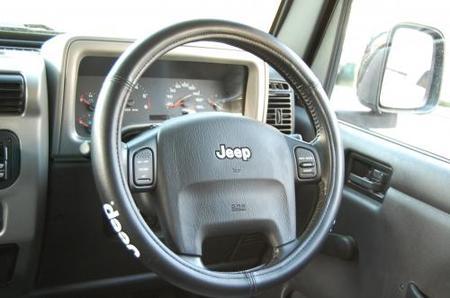 Jeep ステアリングカバー