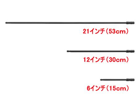 ショートアンテナ/ブラック(JK&JL)
