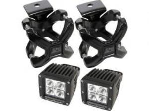 Rugged Ridge Xクランプ&LEDライトキット/ブラック