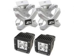 Rugged Ridge Xクランプ&LEDライトキット/シルバー