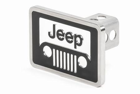 Jeepロゴ ヒッチカバー