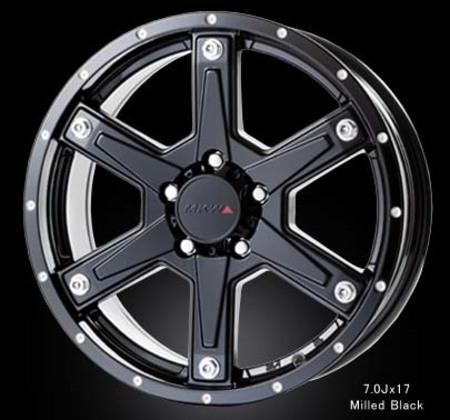 MKW MK-56  Milled Black (TJ)
