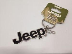 Jeepロゴ エナメルキーチェーン