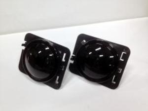 LEDサイドウインカーレンズ/ブラック(JK)