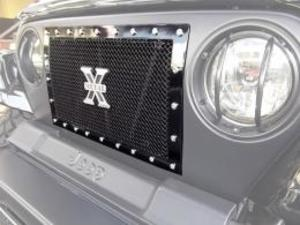 T-REX X-METALブラックグリル(TJ)