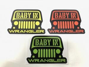 BABY IN WRANGLER ステッカー